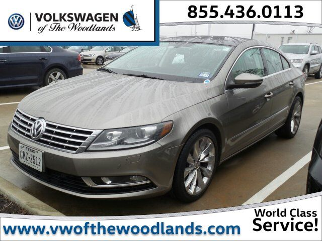 2013 Volkswagen CC VR6 Executive 4Motion The Woodlands TX