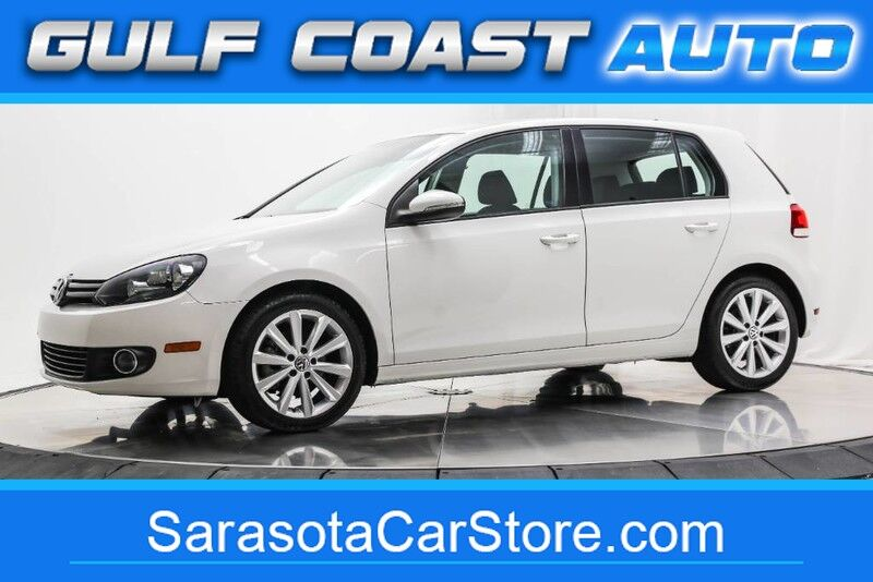 2013_Volkswagen_GOLF_TDI TURBO DIESEL 4 DOOR LOW MILES 1FL OWNER RUNS GREAT !!_ Sarasota FL