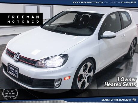 2013 Volkswagen GTI Heated Seats 1 Owner Locally Owned Portland OR