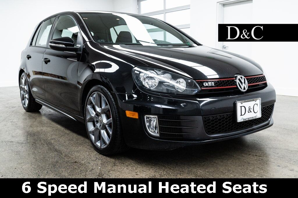 2013 Volkswagen GTI Wolfsburg Edition 6 Speed Manual Heated Seats Portland OR