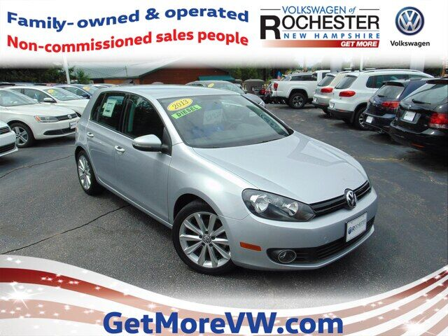 2013 Volkswagen Golf 2.0L TDI 4-Door Rochester NH