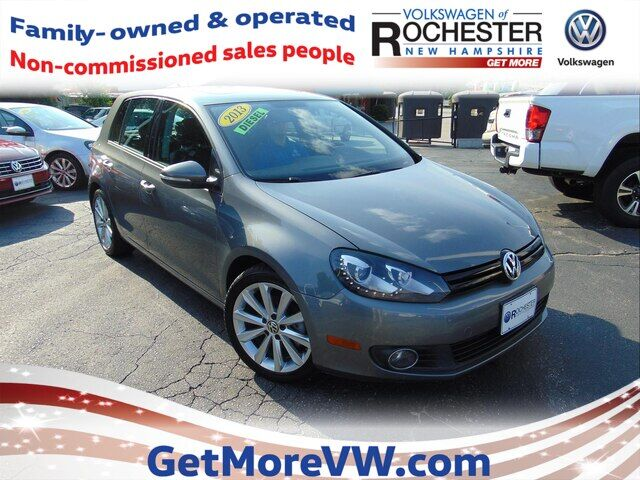 2013 Volkswagen Golf 2.0L TDI 4-Door w/ Tech Rochester NH