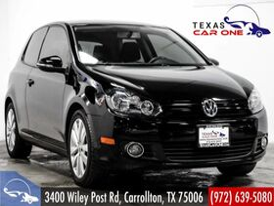 2013_Volkswagen_Golf 2-Door_2.0L TDI HEATED SEATS BLUETOOTH HEATED MIRRORS LEATHER STEERING WHEEL_ Carrollton TX
