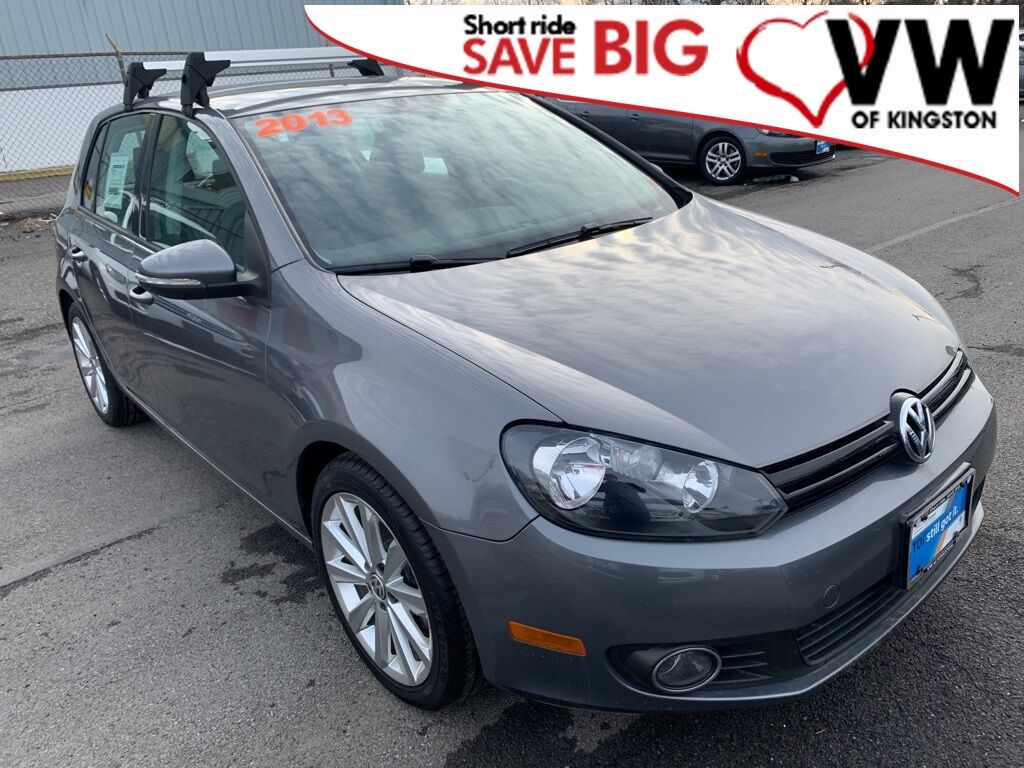 2013_Volkswagen_Golf_TDI_ Kingston NY