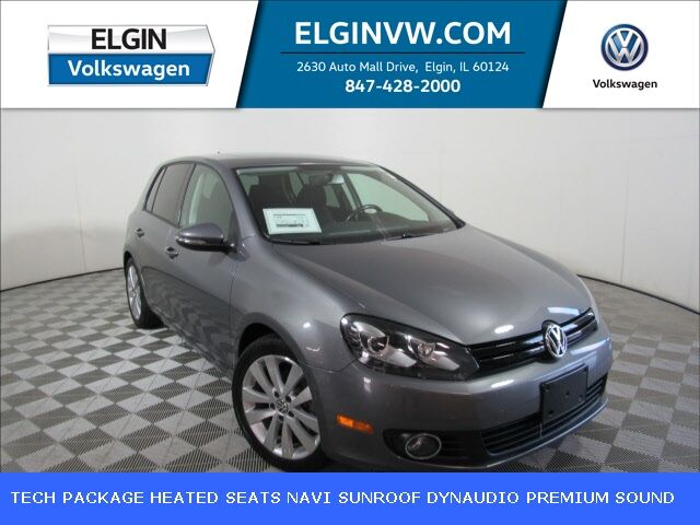 2013 Volkswagen Golf TDI w/ Technology Package Elgin IL