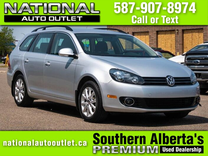 2013 Volkswagen Golf Wagon Comfortline - LOW KLMS - HEATED CLOTH SEATS Lethbridge AB