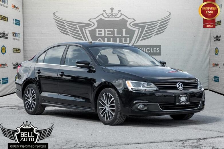 2013 Volkswagen Jetta DIESEL TDI HIGHLINE NAVI SUNROOF LEATHER BACK-UP CAM Toronto ON