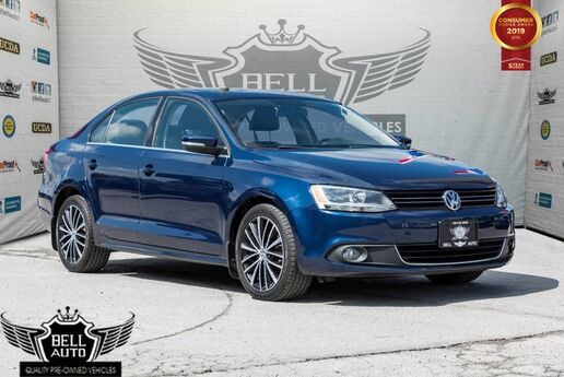 2013 Volkswagen Jetta HIGHLINE TDI SUNROOF LEATHER BLUETOOTH ALLOY WHEELS Toronto ON