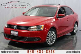 2013_Volkswagen_Jetta Sedan_2.0L Turbocharged DIESEL Engine TDI FWD w/ Fender Premium Sound System, Navigation, Bluetooth Connectivity, Power Leather Seats, Sunroof_ Addison IL