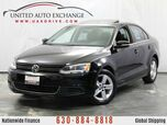 2013 Volkswagen Jetta Sedan 2.0L Turbocharged DIESEL TDI Engine FWD w/ Sunroof, Leather Seat