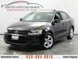 2013_Volkswagen_Jetta Sedan_2.0L Turbocharged DIESEL TDI Engine FWD w/ Sunroof, Leather Seat_ Addison IL