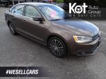 2013 Volkswagen Jetta Sedan Highline, Diesel, Heated Leather Seats, Sunroof