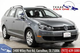 2013_Volkswagen_Jetta SportWagen_2.0L TDI LEATHER SEATS HEATED SEATS BLUETOOTH HEATED MIRRORS REAR AIR_ Carrollton TX
