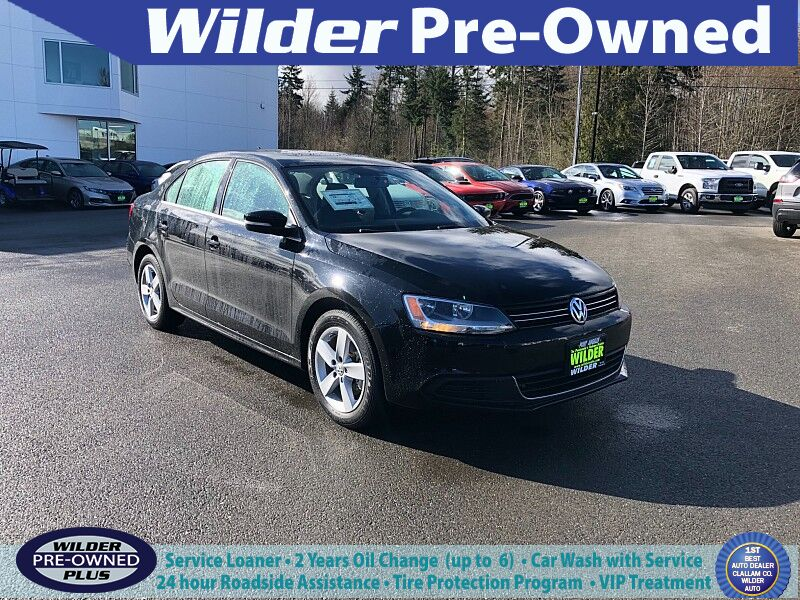 2013 Volkswagen Jetta TDI 4d Sedan Premium Auto Port Angeles WA