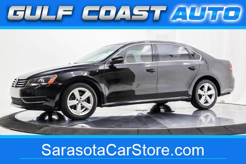 2013_Volkswagen_PASSAT_SE LEATHER WHEELS LOW MILES FL CAR COLD AC RUNS GREAT !!_ Sarasota FL