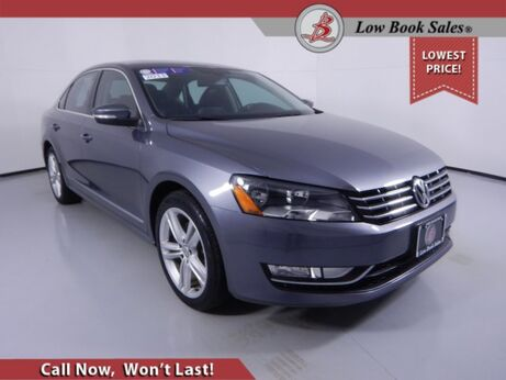 2013_Volkswagen_PASSAT_TDI SE w/Sunroof_ Salt Lake City UT