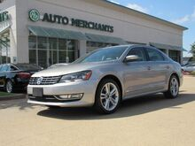 2013_Volkswagen_Passat_2.0L TDI SEL Premium LEATHER, SUNROOF, NAVIGATION, BACKUP CAM, PUSH BUTTON START, HTD FRONT STS, CD_ Plano TX