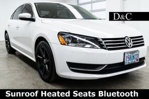 2013_Volkswagen_Passat_2.5 SE Sunroof Heated Seats_ Portland OR