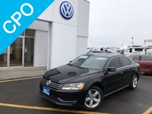 2013_Volkswagen_Passat_4DR SDN 2.5L AUTO SE W/SU_ Yakima WA