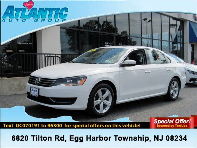 2013 Volkswagen Passat SE Egg Harbor Township NJ