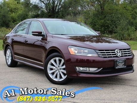 2013 Volkswagen Passat SEL Premium 1 Owner LOADED! Schaumburg IL