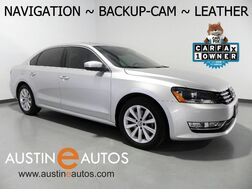 2013_Volkswagen_Passat SEL Premium_*NAVIGATION, TOUCH SCREEN, MOONROOF, BACKUP-CAMERA, HEATED SEATS, FENDER AUDIO, BLUETOOTH_ Round Rock TX