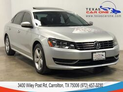 2013_Volkswagen_Passat_TDI SE AUTOMATIC SUNROOF LEATHER HEATED SEATS BLUETOOTH_ Carrollton TX
