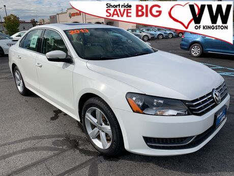 2013 Volkswagen Passat TDI SE w/Sunroof Kingston NY