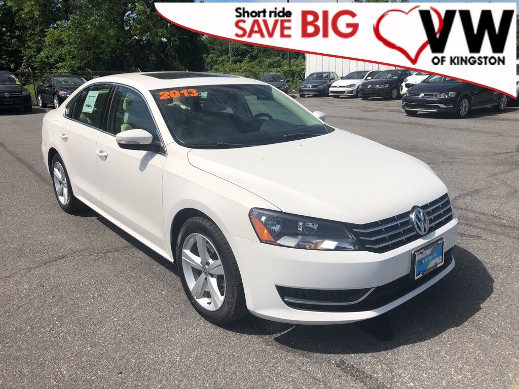2013_Volkswagen_Passat_TDI SE w/Sunroof_ Kingston NY