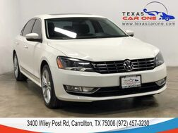 2013_Volkswagen_Passat_TDI SEL PREMIUM AUTOMATIC NAVIGATION SUNROOF LEATHER HEATED SEAT_ Carrollton TX