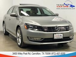 2013_Volkswagen_Passat_TDI SEL PREMIUM AUTOMATIC NAVIGATION SUNROOF LEATHER HEATED SEAT_ Carrollton TX