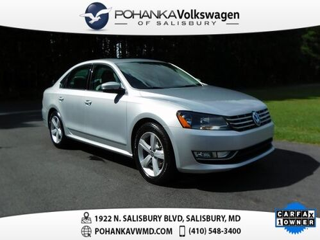 2013_Volkswagen_Passat_TDI SEL Premium ** ONE OWNER ** 40+ MPG **_ Salisbury MD