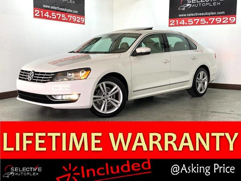 2013 Volkswagen Passat TDI SEL Premium,Leather,Backup Camera,Heated seats,Bluetooth Carrollton TX