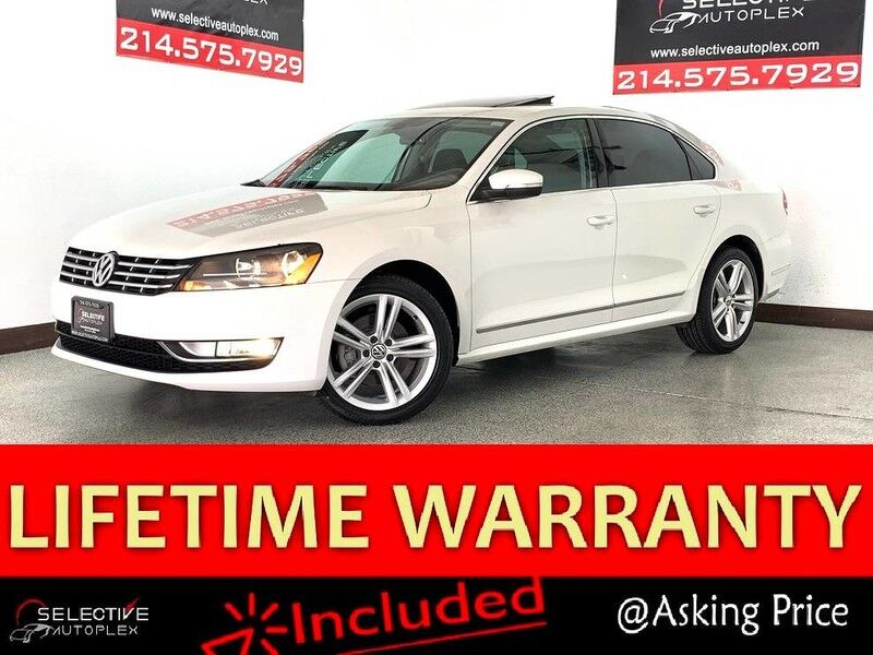 2013 Volkswagen Passat TDI SEL Premium,Nav,Sunroof,Heated Seats,Backup camera Carrollton TX