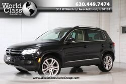Volkswagen Tiguan SEL - BACKUP CAMERA PUSHBUTTON START PANO ROOF HEATED LEATHER SEATS NAVIGATION 2013