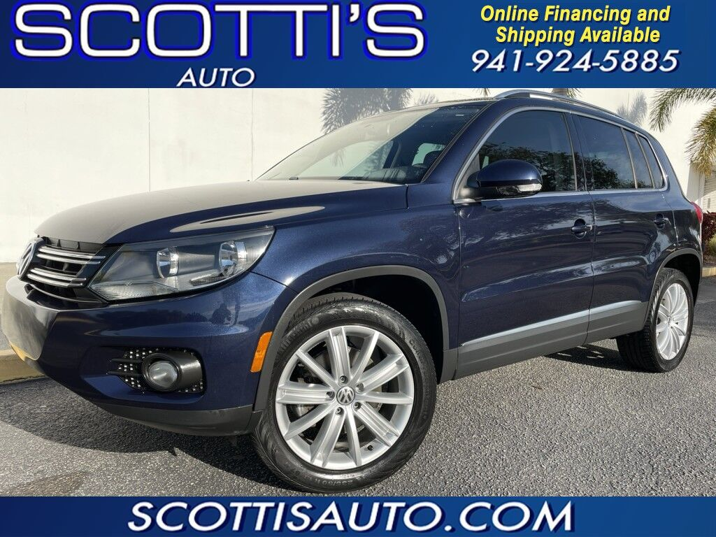 2013 Volkswagen Tiguan SEL~ LEATHER~ NAVIGATION~ 2.0 TURBO~ CLEAN~ WE OFFER ONLINE FINANCE AND SHIPPING!~ APPLY TODAY!