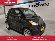 2013_smart_fortwo_Pure **USB/Keyless Entry/ Automatic**_ Winnipeg MB