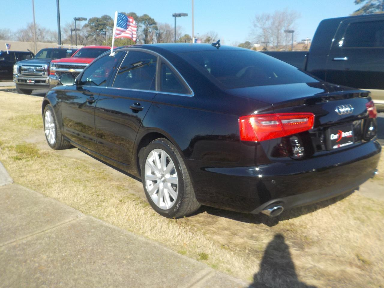 2014 AUDI A6 QUATTRO PREMIUM+, LEATHER HEATED SEATS, BOSE SOUND, NAVIGATION, BACKUP CAM, SUNROOF, ONLY 86K MILES! Virginia Beach VA