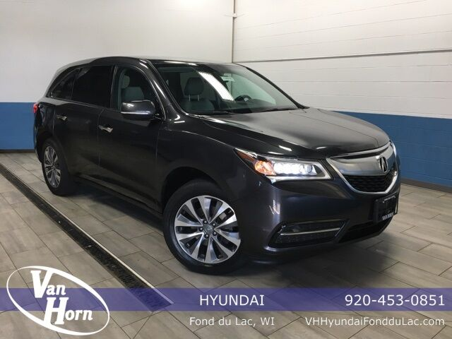 2014 Acura MDX 3.5L Technology Package Plymouth WI