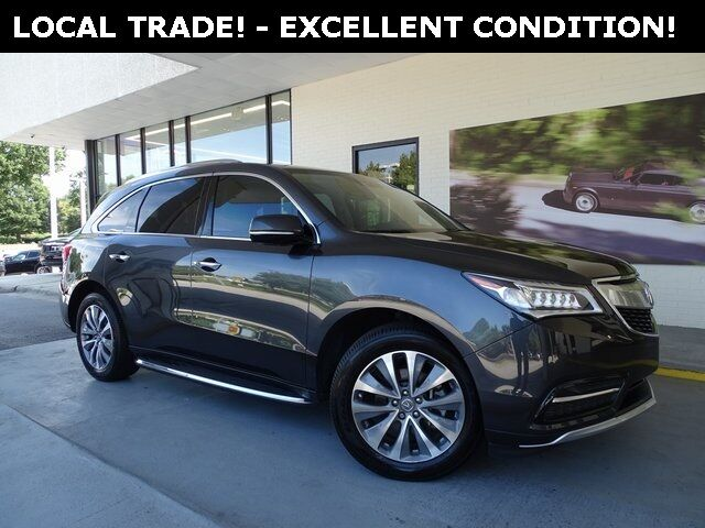 2014 Acura MDX 3.5L Technology Package Raleigh NC