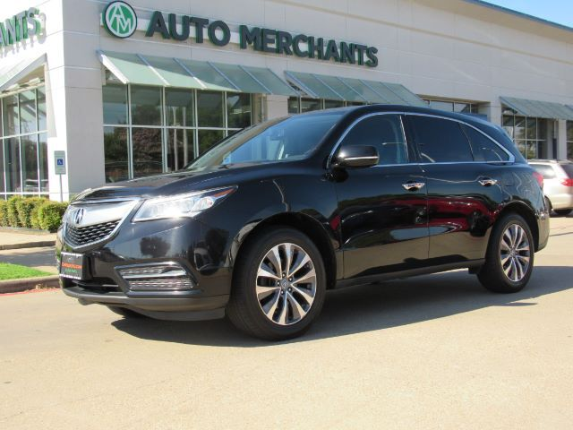2014 Acura MDX 6-Spd AT w/Tech Package  LEATHER SEATS, SUNROOF, NAVIGATION, BLIND SPOT MONITOR, BACKUP CAMERA Plano TX