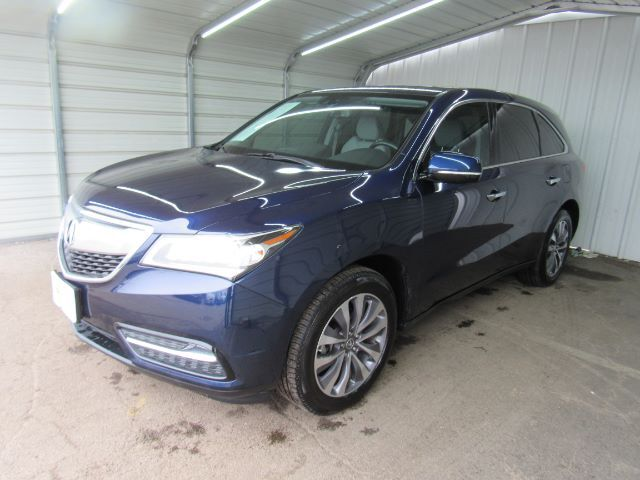 2014 Acura MDX 6-Spd AT w/Tech and Entertainment Package Dallas TX
