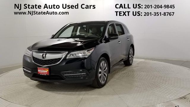2014 Acura MDX AWD 4dr Tech Pkg Jersey City NJ