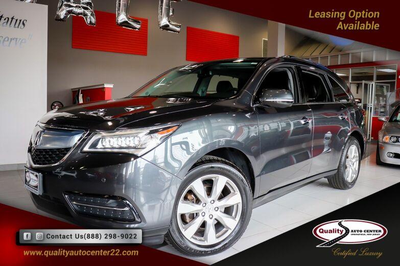 2014 Acura MDX Advance/Entertainment Pkg 1-Owner Springfield NJ