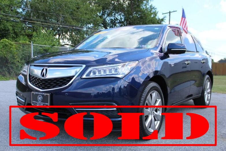 2014 Acura MDX Advance/Entertainment Pkg New Castle DE