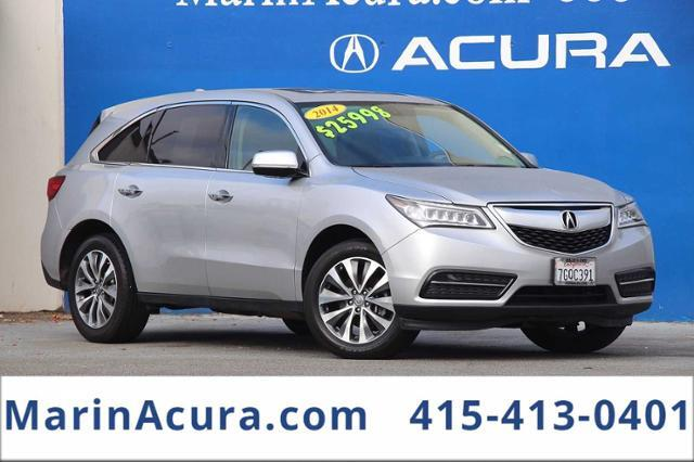2014_Acura_MDX_SH-AWD 4dr Tech/Entertainment Pkg_ Bay Area CA