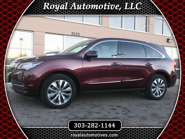 2014 Acura MDX TECHNOLOGY PACKAGE w/ THRID ROW Englewood CO