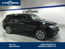 2014_Acura_MDX_Tech 100% CLEAN CARPROOF Locally owned and fully serviced here at Crown Acura_ Winnipeg MB