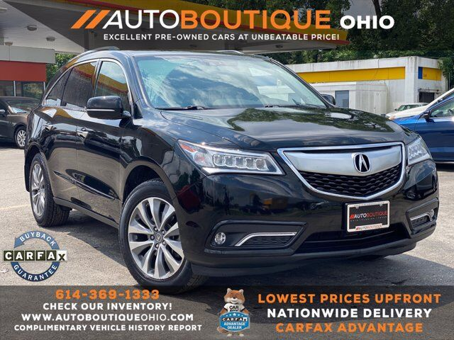 2014 Acura MDX Tech/Entertainment Pkg Columbus OH