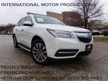 2014 Acura MDX Tech Pkg * ONE OWNER*